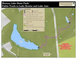 Saratoga State Park Map Park Maps Friends Of Moreau State Park