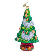 Radko Halloween Ornaments Christopher Radko 12 Days Of Christmas Ornaments Home Decorating