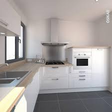 plan de travail design cuisine plan de travail chene massif cuisine blanche design meuble iris