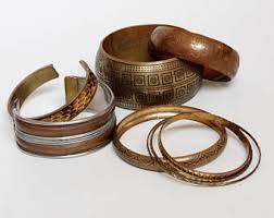 antique copper bracelet images Copper bracelet etsy jpg