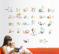 Alphabet Wall Decals For Nursery Alphabet Wall Decals
