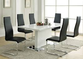 Metal Dining Room Chairs by Coaster Fine Furniture 102310 100515blk Modern Dining Table With