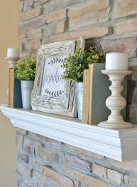 simple farmhouse mantel free printable