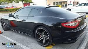 maserati 2017 granturismo 2012 2017 maserati granturismo coupe rear window spoiler