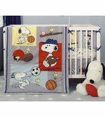 Curly Tails Crib Bedding Bedtime Originals Snoopy Sports 3 Crib Bedding Set