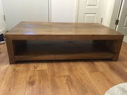 coffee table country shabby chic solid timber coffee table painted