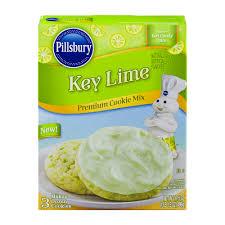 pillsbury key lime premium cookie mix 17 5 oz walmart com