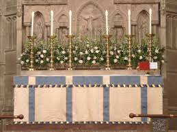 Church Flower Arrangements The Church Of The Advent The Flower Guild