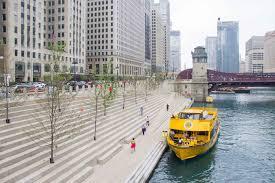Chicago Riverwalk Map by Riverwalk Clark Street Stop Chicago Water Taxi