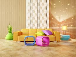 Wohnzimmer Orange Blau Farbgestaltung Im Wohnzimmer Zuhause Bei Sam