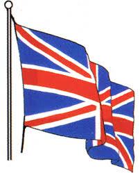 Waving Flag Artist British Flag Clipart