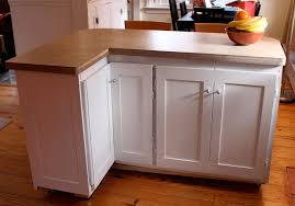 making a kitchen island from cabinets