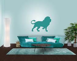 Wohnzimmer Einrichten Afrikanisch Wanddeko Löwe Afrika Feeling Direkt Im Wohnzimmer