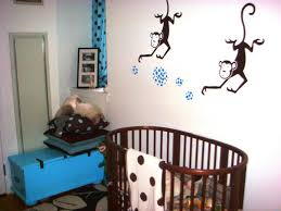 monkey wall decals that cheer your kids jen joes design image of paul frank monkey wall decals