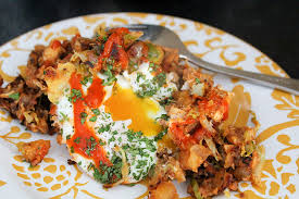 leftover thanksgiving turkey chorizo breakfast hash from away