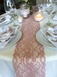 Navy Blue Lace Table Runner Table Runner Wedding Google Search Wedding Ideas Pinterest