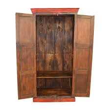 armoire furniture sale 41 off nadeau nadeau rustic blue and red armoire storage