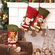 creative decorations for home large creative christmas stocking chrismas decorations for home