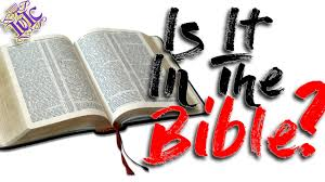 the israelites if it s not in the bible it s not
