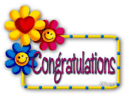 Smiley Flowers - congratulations smiley flowers animated image