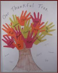thanksgiving craft projects for handprint tree kraftykid