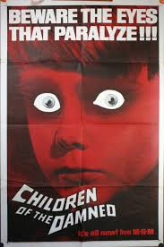Old Christmas Movies by Vintage Horror Movie Posters The Damned 1964 Original Advance