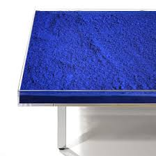 yves klein table price yves klein table bleu klein 1963 2014 available for sale artsy