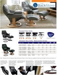Small Chair And Ottoman by Stressless Tampa Small Reno Paloma Aquagreen Leather Recliner