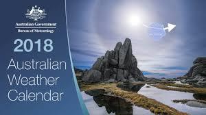 meteorology bureau australia australian weather calendar 2018