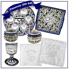 seder set passover gifts judaica ceramic armenian design passover gift set