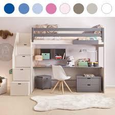 Schreibtisch Mit Viel Stauraum Gemütliche Innenarchitektur Etagenbett Mit Stauraum Etagenbett