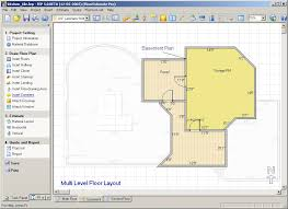 Program To Draw Floor Plans Stylish House Floor Plans Software For Residence House Design Ideas