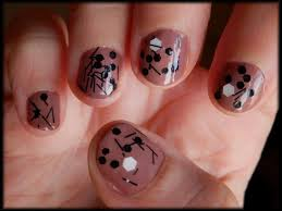 nail polish turquoise black nail art stunning clear black nail