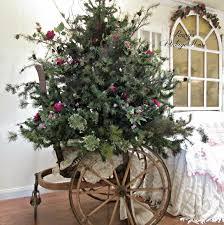 penny u0027s vintage home how to make a short fat christmas tree