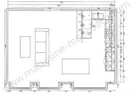 plan cuisine en u wonderful modele cuisine blanc laque 18 cuisine lineaquattro en u