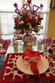 Valentine S Day Table Decorations by Kristen U0027s Creations Valentine Tablescape Be Mine