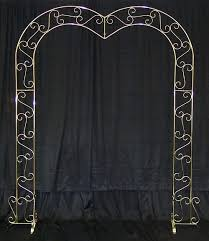 Rent Wedding Arch Brass Wedding Arch Heart Shaped Rentals Cleveland Oh Where To