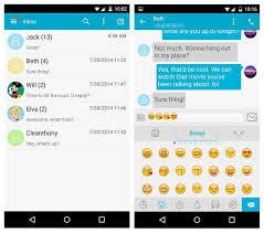 sms apps for android top 13 best text message apps for android devices dr fone