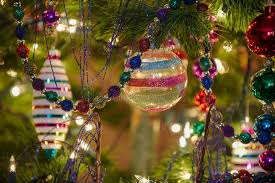 beautiful glass ornaments stock photo image of