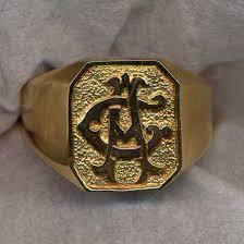 mens monogram ring engraved jewelry monogram rings monogram rings