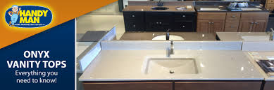 handy man onyx vanity tops beautiful and functional with a