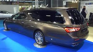 maserati ghibli modified go out in style with the new maserati ghibli hearse