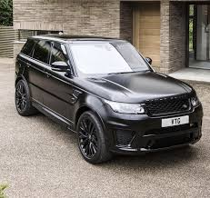 matte range rover 2017 used 2017 land rover range rover sport lw v8 svr for sale in