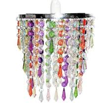 Multi Coloured Chandeliers Modern Chandelier Pendant Shade With Multi Coloured Acrylic