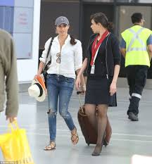 meghan markle spotted for first time since pippa u0027s wedding daily
