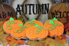 Halloween Pumpkin Sugar Cookies - pumpkin sugar cookie recipe