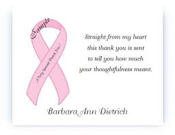 cancer cards thank you card top breast cancer thank you cards verses for