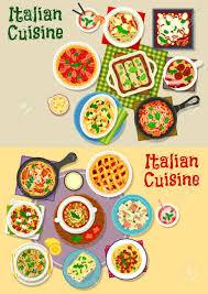 jeux de cuisine lasagne jeu d icônes de plats italiens cuisine pâtes pâtes à la viande