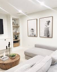 Living Rooms Without Coffee Tables Light Bright Basement Even Without Windows Makes For A Great