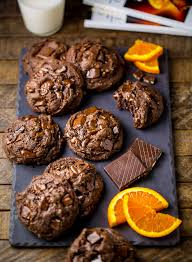 where to buy chocolate oranges chocolate orange brownie cookies baker by nature